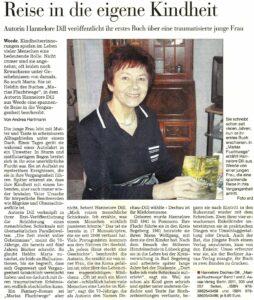 Zeitungsartikel Hannelore Dill 1