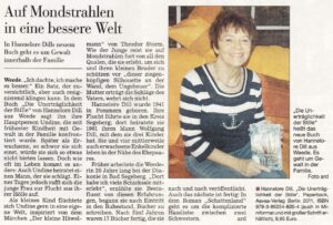 Zeitungsartikel Hannelore Dill 2